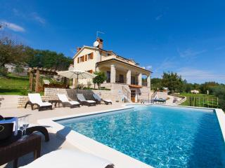 Lounge by the pool and enjoy an amazing view from this stunning villa, Sveta Katarina