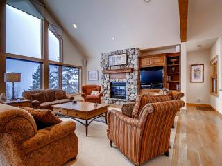 ASPEN VIEW: 3 Bed/3.5 Bath Executive Home, 2 Car Garage, W/D, King Beds, Private Hot Tub-Sleeps 7, Silverthorne
