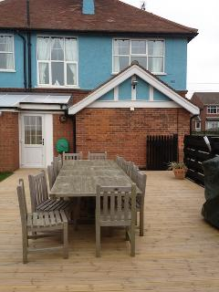Decking and Outdoor Seating Area