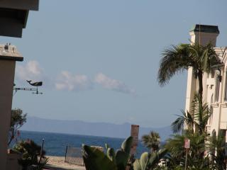 Balcony view of ocean and Catalina Island!