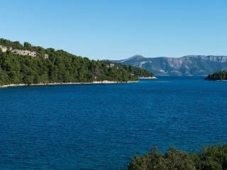 Sweet apt in Polače, sea view :), Mljet Island