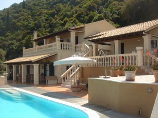 Villa Tsaki  -  Private Pool  -  Quiet Area  -  Sea View -  Near Corfu Town