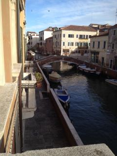 OPEN THE LIVING ROOM WINDOWS TO THIS AUTHENTIC VENETIAN VIEW