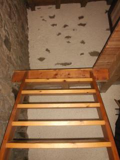 Escalera al altillo