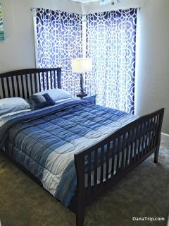 Queen size bed in bedroom #3