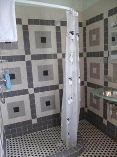 Master bedroom En Suite with walk in power shower