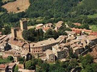 castello in Lazio autunno