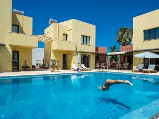 Beach,Pool,Seaview,Daphnis-Villa 2., Maleme