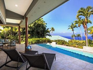 Keauhou Estates Hale Beachglass Luxury Home, Private Pool, Ocean Views, Kailua-Kona