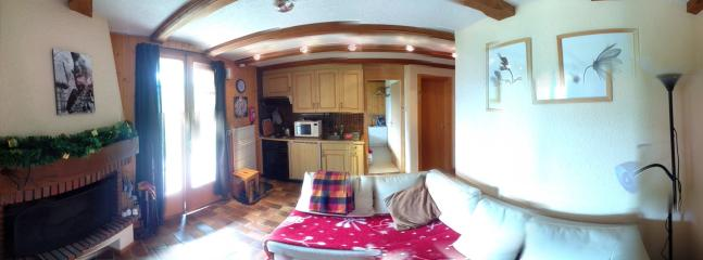 Lounge taken with a 360 degree app.