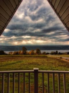 vineyard villas view from bedroom