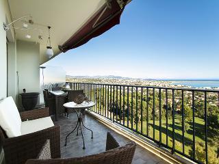 appartement vue mer panoramique, Cagnes-sur-Mer