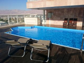 2-bedroom Penthouse with private pool, Eilat