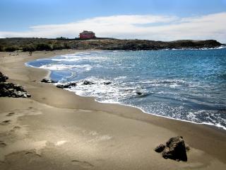 Casa en la playa con piscina privada