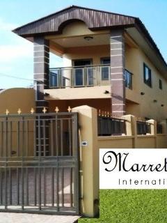 Marrets International.  WiFi, 110v/220v, Manded Security, Backup Generator and much more