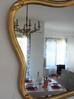 Reflet de la maison