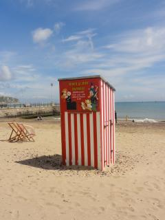 The famous Swanage Punch & Judy