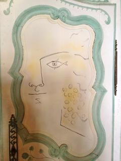 Jean Cocteau decor in the Villa Sospir. Visits by appointment on Cap Ferrat