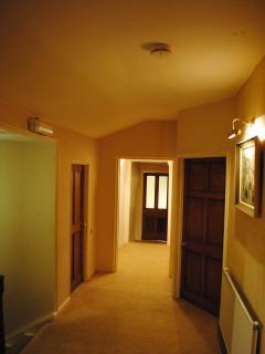Landing hallway