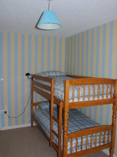 Room with a bunk bed