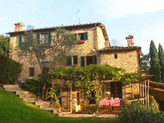 Sole Sun kissed! Harvest time with huge fireplace!, San Casciano in Val di Pesa