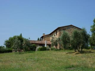 Farmhouse sleeps 6 + 2 w/pool amidst vineyards, San Gusme