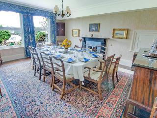 Dining room, overlooking the garden