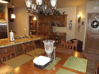 Dining area and desk