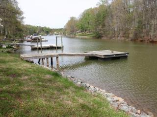 View down the quiet cove of our dock.  Main channel is 5 minutes away.