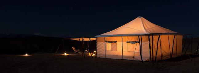Erg chegaga luxurry camp