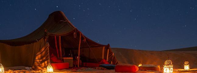 The adventure in full desert