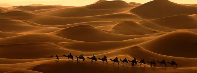 the magique caravane of 6 days in desert with expert guides for nomadic experience