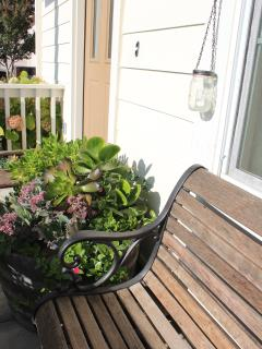 Relax on the front porch during your stay