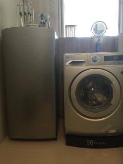 Fridge and washing machine