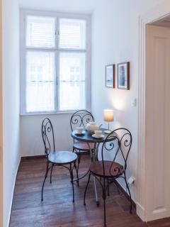 Coffee corner in the kitchen