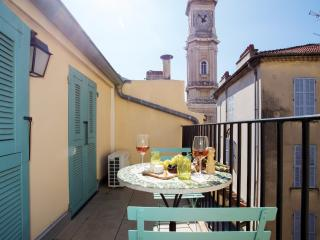 Charming terrace apartment Old Town