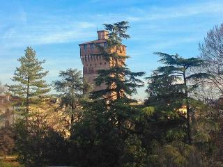 Vicenza Rental with equipped terrace, Garden View