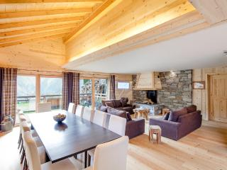 Chalet with view of the mountains and valley, Les Deux-Alpes