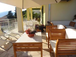 Apartment 1, private terrace