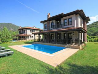 Nice villas with private pools in Camli Village, Marmaris