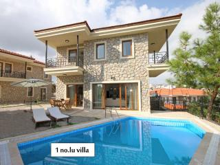 3 stone villas in Datca center with private pools