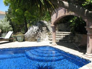 Step into the pool - salt-water chlorinated (no chemicals)