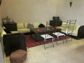 Duplex de standing avec patio privé, excellent rap, Marrakech