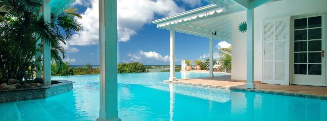 SPECIAL OFFER: St. Martin Villa 383 Located Close To La Samanna Hotel Giving Lovely Views Over Baie Longue And The Caribbean Sea., Terres Basses