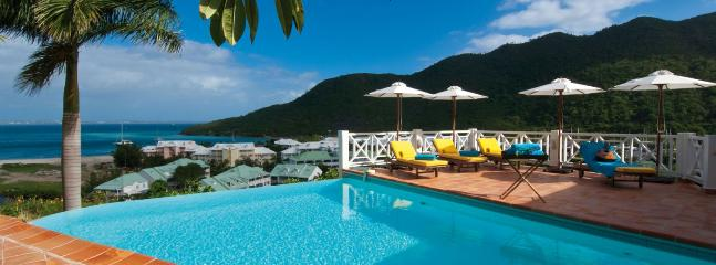 SPECIAL OFFER: St. Martin Villa 359 Surrounded By Lush Tropical Vegetation The Villa Has A Large Infinity Pool, A Spacious Terrace And A Charming Gazebo Built Into The Hillside., Anse Marcel