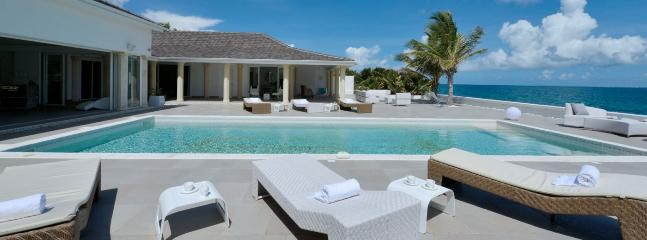 SPECIAL OFFER: St. Martin Villa 136 Located On One Of The Most Coveted Stretches Of Beach In St. Martin, On Baie Rouge., St. Maarten/St. Martin