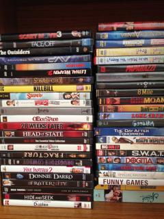 Over 40 DVD Library - Enjoy Movie Night