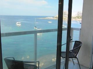 Unobstructed beautiful Sea Views from the living area