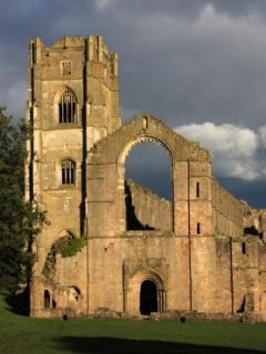 Fountains abbey is nearby with its dear parks
