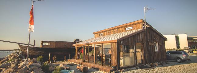 Captainhouse and sauna ship